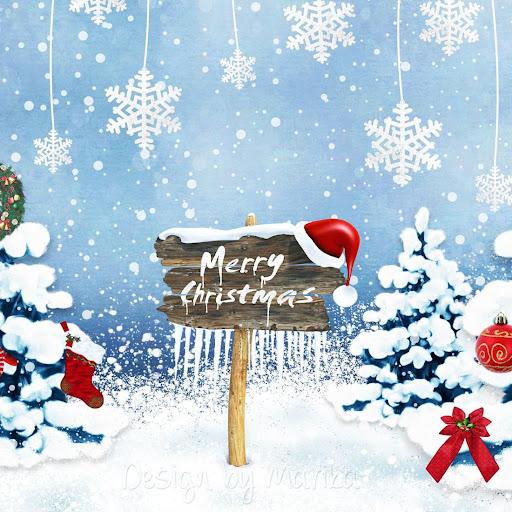 無料个人化Appのクリスマスライブ壁紙|HotApp4Game