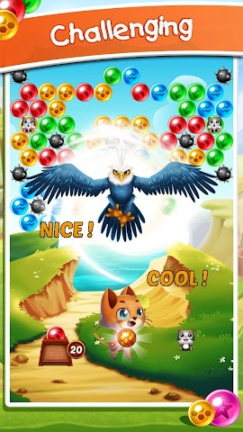 android Witch's Cat Bubble Pop Screenshot 3