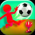 Crazy Soccer Kick 3D:Fun Soccer Strike Game. icon