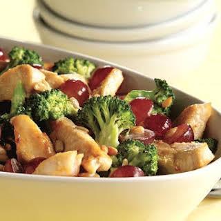 Broccoli and Chicken Salad.