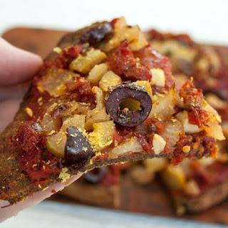 Cauliflower Pizza Crust.