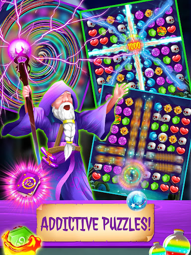 Magic Jewels: New Match 3 Games - screenshot