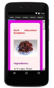 Chocolate Recipes screenshot 1