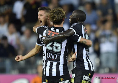 Le groupe de Charleroi: Steeven Willems absent