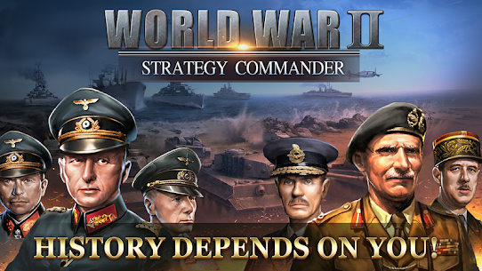 WW2: Strategy Commander Conquer Frontline 1