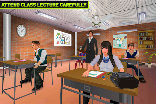 Virtual High School Life Simulator 1.0 screenshots 2