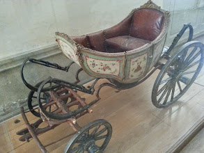 Photo: The prince's chariot, driven by goats