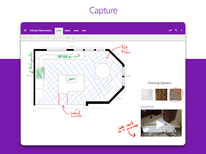 Microsoft OneNote: Save Ideas and Organize Notes Screenshot