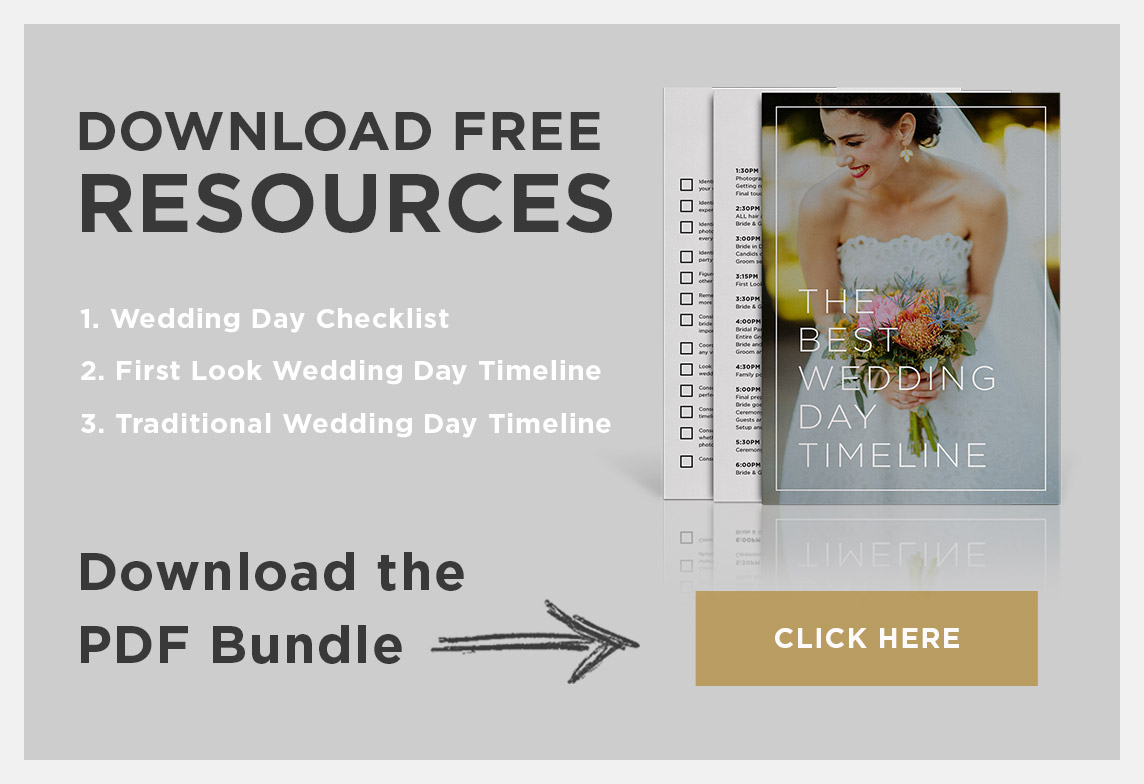 Download for FREE The Best Wedding Timeline Template