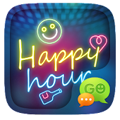 GO SMS PRO HAPPY HOUR THEME