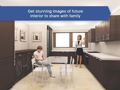 3D Kitchen Design for IKEA  Room Interior Planner  screenshot thumbnail. 3D Kitchen Design for IKEA  Room Interior Planner   Android Apps