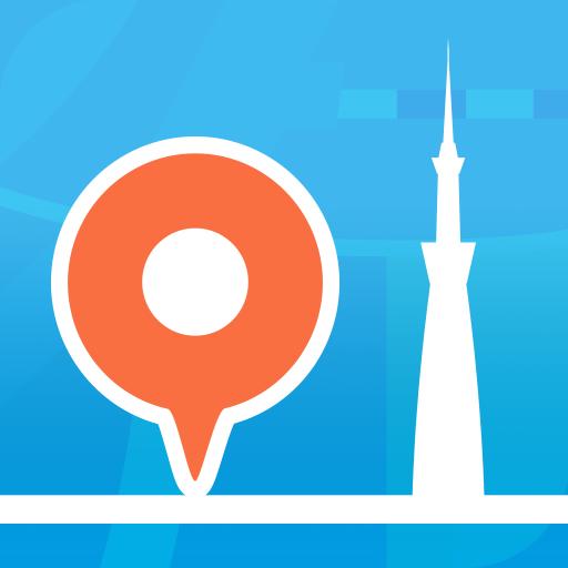 行き方案内 - 乗換案内シリーズ 遊戲 App LOGO-硬是要APP