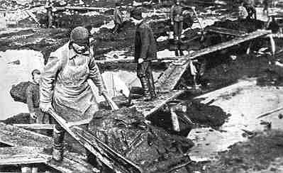 Работы на Беломорбалтийском канале. 1932 г.