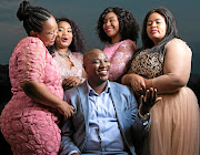Polygamist Musa Mseleku and his four  wives is  highly sought  by ladies  after revealing he is looking to take    wife no 5. /Supplied