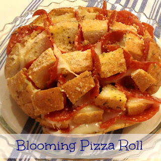 Blooming Pizza Roll