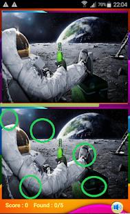 لعبة الاختلافات الخمسة بين الصورتين للاندرويد coobra.net