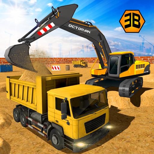 Heavy Excavator Crane - City Construction Sim 2017