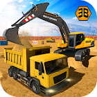 重型挖掘机起重机 - 城市建设模拟 icon