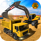 Heavy Excavator Crane - City Construction Sim 2017