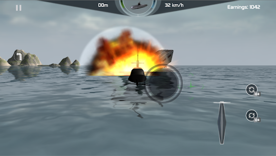Submarine Simulator : Naval Warfare Screenshot