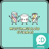 마시멜로 프렌즈 카카오톡 테마