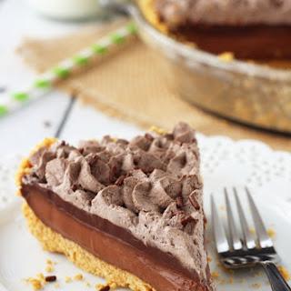 Baileys Chocolate Pie.