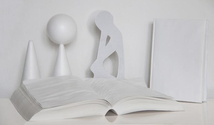 """Conceptual photo """" Domande infinite """" di Pensatore"""