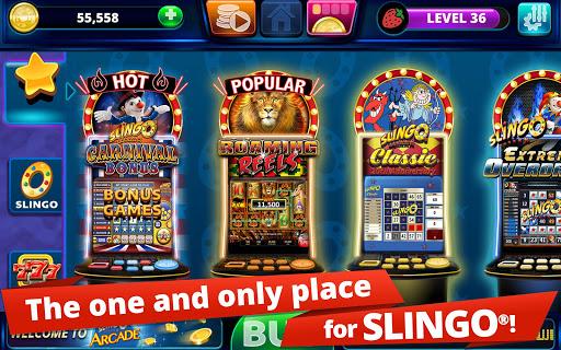 Slingo Arcade: Bingo Slots Game modavailable screenshots 11