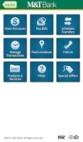 Screenshot of M&T Mobile for Business