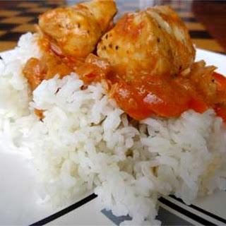 Kenyan Red Masala Wahoo Curry