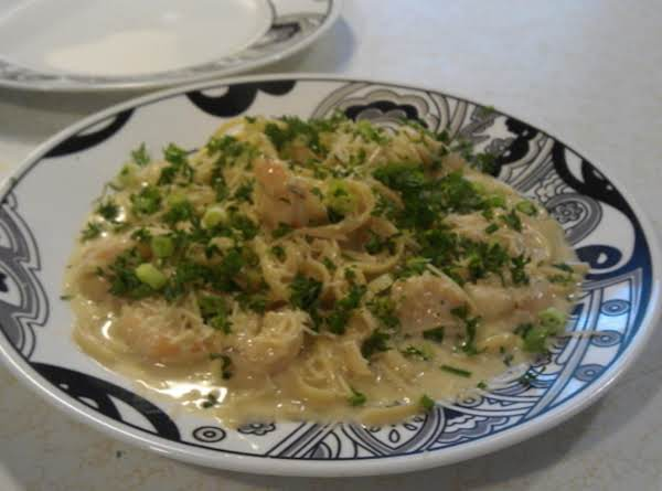 Rose`s Shrimp Or Chicken Pasta! Recipe