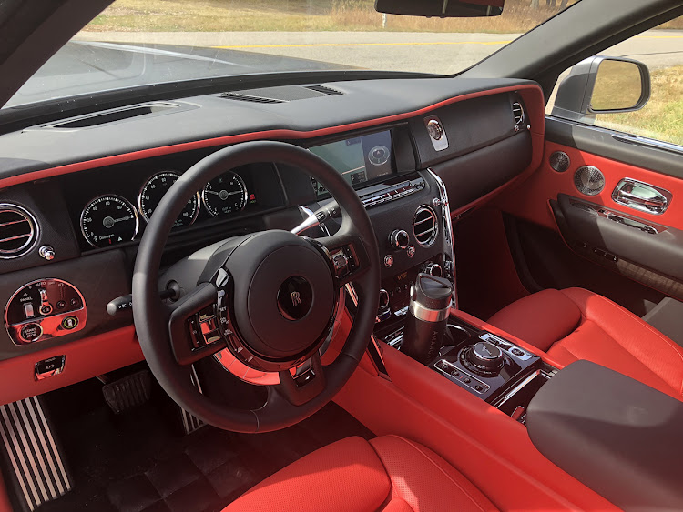 Rolls-Royce Cullinan: The interior features all the usual Rolls-Royce handcrafted materials and bespoke options.