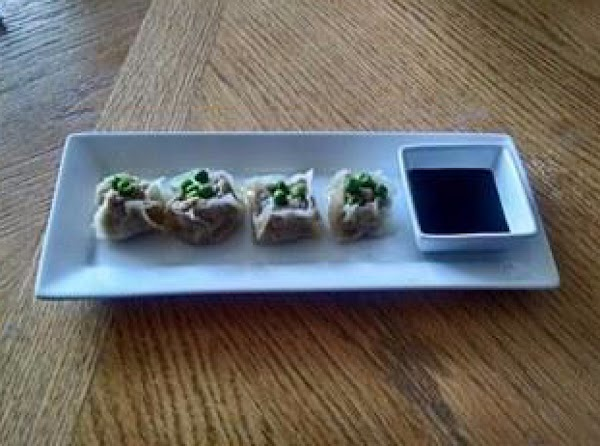 Serve with favorite dipping sauce. I use sweet soy sauce with a little chili...