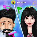 Barber Shop - Girl And Men Hair Salon Game icon