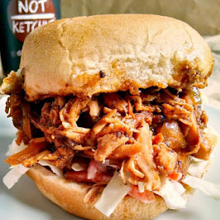 #10DaysofTailgate – Slow Cooker @NotKetchup Smoky Date Barbecue Sandwiches