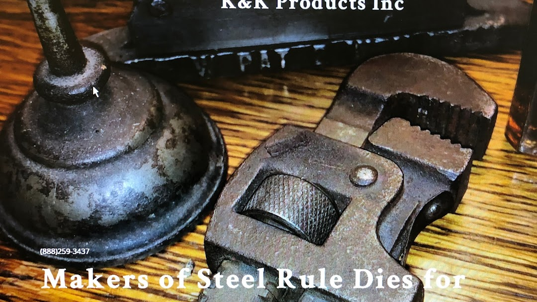 K&K Products Inc - Manufacturer of Steel Rule Dies