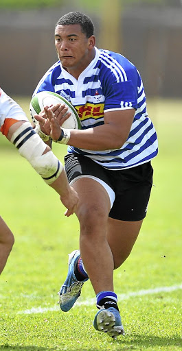 Muscling ahead: Juarno Augustus, seen here playing for WP U19s, has been the stand-out player for the Junior Springboks at the current World U20 tournament in Georgia. Picture: GALLO IMAGES
