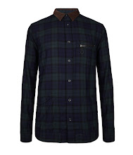 Photo: Oakland Shirt>>  UK>http://bit.ly/ShJ0hW US>http://bit.ly/PU1TWf  100% cotton, light weight yarn dye check shirt. The Oakland Shirt has a contrasting corduroy collar and a left chest pocket with zip fastening. This style has been heavily laundered for a soft hand feel.