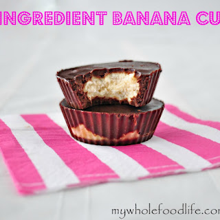 3 Ingredient Banana Cups