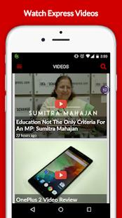 The Indian Express- screenshot thumbnail