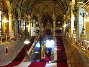 Photo: Vnitřní prostory maďarského parlamentu.