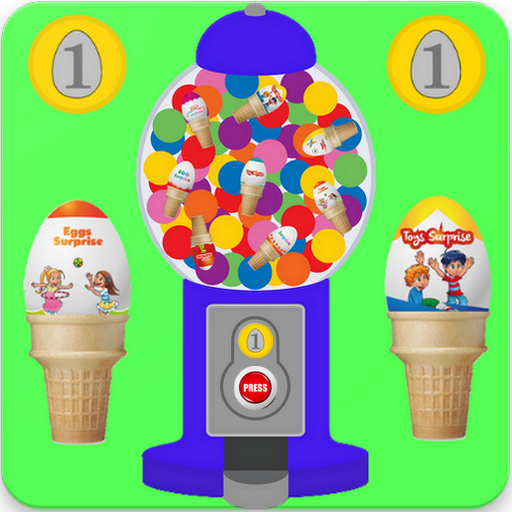 Ice Cream Eggs Vending Machine