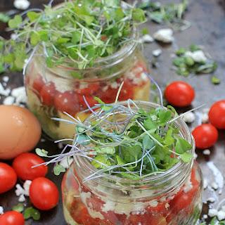Scrambled Eggs in a Jar.