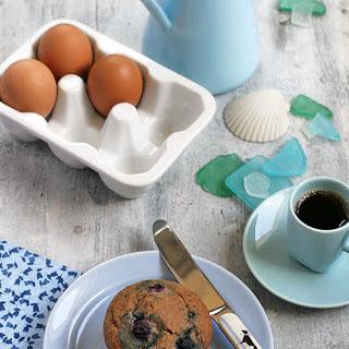 Gluten-Free Blueberry Muffins (Coconut Flour)