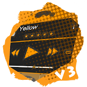 Yellow PlayerPro Skin