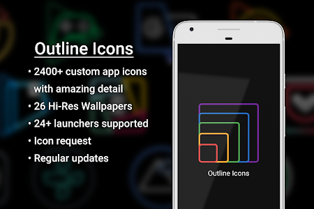 Outline Icons 1 34 (Patched) APK for Android