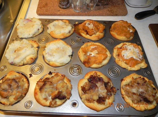 Now, bake at 350 degrees for about 15 minutes. Check on them at about...