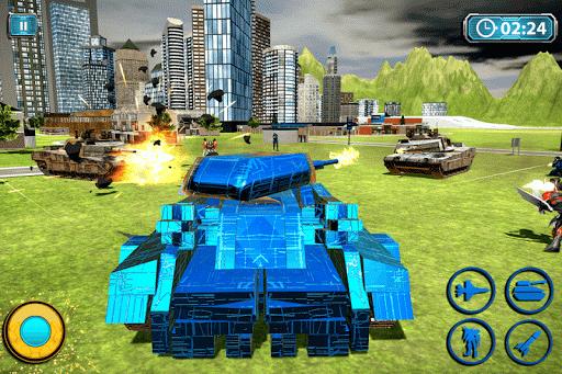 Transform Robot Action Game filehippodl screenshot 2