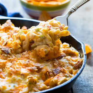 King Ranch Chicken Mac and Cheese.