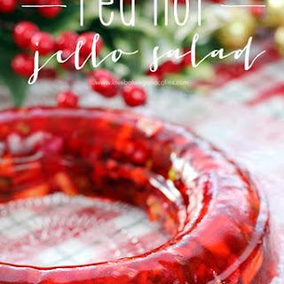 Cherry Apple Jello Salad Recipes